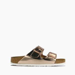 כפכפים בירקנשטוק לנשים Birkenstock Arizona - זהב