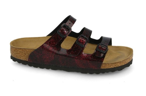 כפכפים בירקנשטוק לנשים Birkenstock Florida Fresh - בורדו