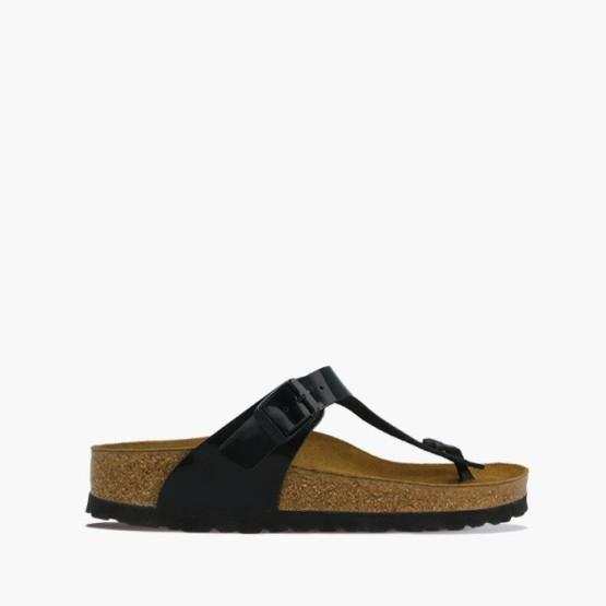 נעליים בירקנשטוק לנשים Birkenstock Gizeh - עור שחור