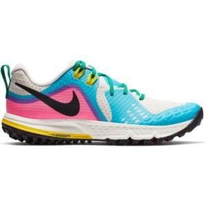 נעליים נייק לנשים Nike Air Zoom Wildhorse 5 - כחול/לבן
