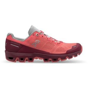 נעליים און לנשים On Cloudventure - אדום