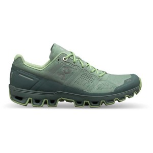 נעליים און לנשים On Cloudventure - ירוק