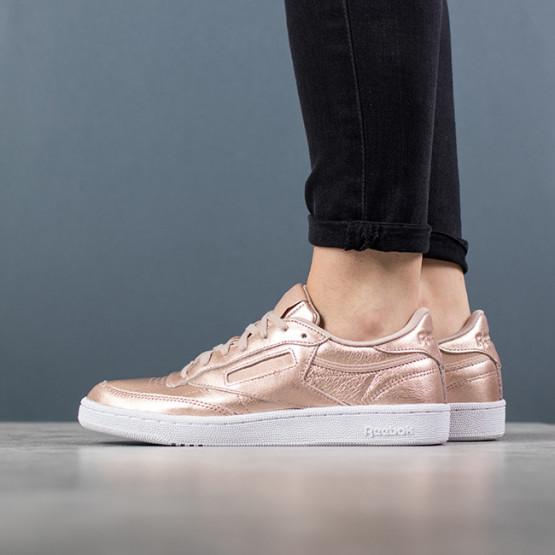 נעליים ריבוק לנשים Reebok Club C 85 Melted Metal - זהב