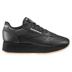 נעליים ריבוק לנשים Reebok Leather Double - שחור