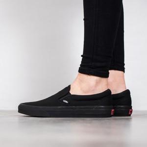 נעלי סניקרס ואנס לנשים Vans Classic Slip-On - שחור
