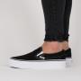 נעליים ואנס לנשים Vans Classic Slip On Platform - שחור/לבן