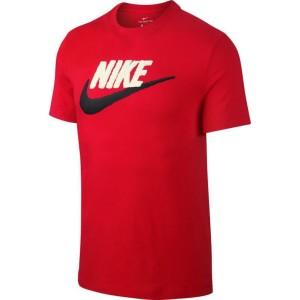 חולצת T נייק לגברים Nike BRAND MARK - אדום