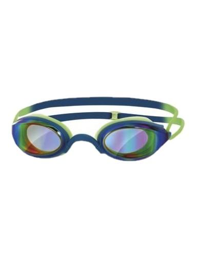 אביזרים זוגס לנשים Zoggs FUSION AIR MIRROR - כחול/ירוק