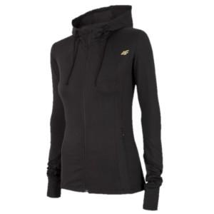 בגדי חורף פור אף לנשים 4F BLDF001 - שחור