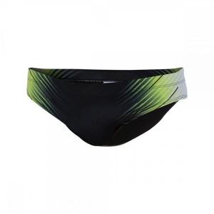 בגדי ים זארוד לגברים ZEROD GRAPHIC BRIEFS - ירוק
