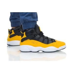 נעליים נייק לגברים Nike JORDAN 6 RINGS - שחור/צהוב