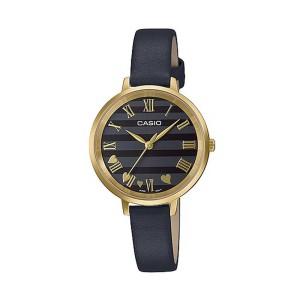 שעון קסיו לנשים CASIO LTPE160 - שחור