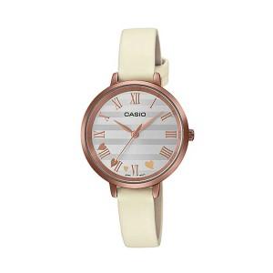שעון קסיו לנשים CASIO LTPE160 - לבן