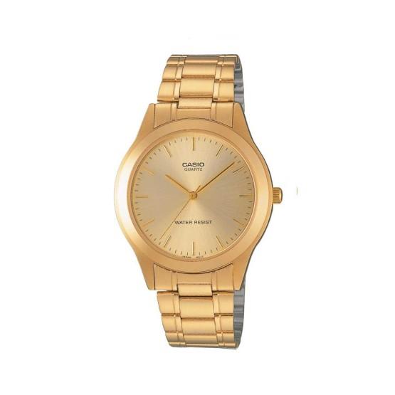 שעון קסיו לגברים CASIO MTP1128 - זהב