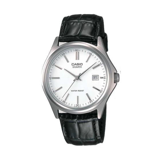 שעון קסיו לגברים CASIO MTP1183 - כסףשחור