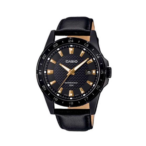 שעון קסיו לגברים CASIO MTP129 - זהב