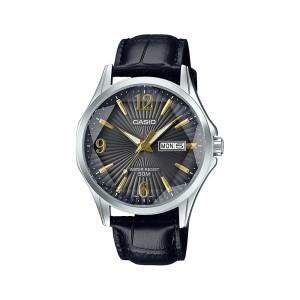 שעון קסיו לגברים CASIO MTPE120L - שחור