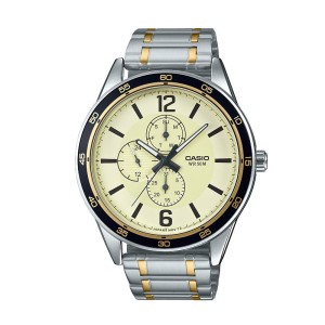שעון קסיו לגברים CASIO MTPE319S - כסף