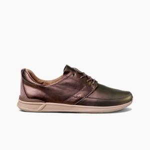 נעליים ריף לנשים Reef ROVER LOW LE - ברונזה