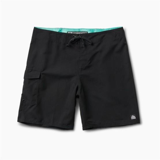 בגדי ים ריף לגברים Reef LUCAS 4 SHORTIE - שחור