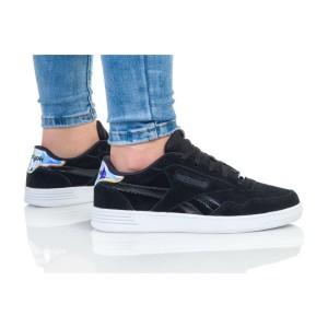 נעלי סניקרס ריבוק לנשים Reebok Royal Techque - שחור/לבן