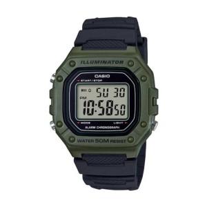 שעון קסיו לגברים CASIO W218 - ירוק