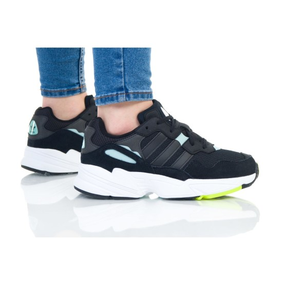 נעלי סניקרס אדידס לנשים Adidas Originals Yung-96 - שחור