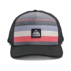אביזרי ביגוד ריף לנשים Reef PEELER HAT - שחור/אדום