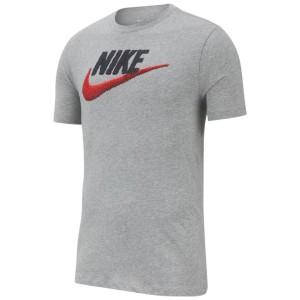 חולצת T נייק לגברים Nike BRAND MARK - אפור