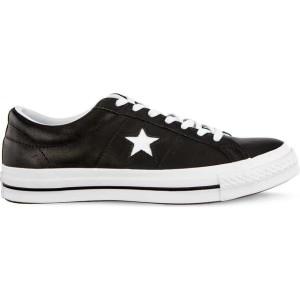 נעליים קונברס לגברים Converse ONE STAR OX  - שחור