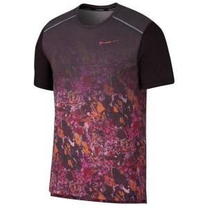 ביגוד נייק לגברים Nike Rise 365 Wild Run Printed - אדום