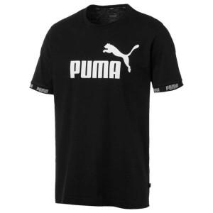 ביגוד פומה לגברים PUMA Amplified Big Logo - שחור