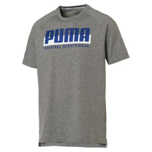 ביגוד פומה לגברים PUMA Athletics Graphic - אפור