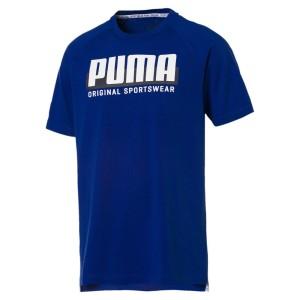 ביגוד פומה לגברים PUMA Athletics Graphic - כחול