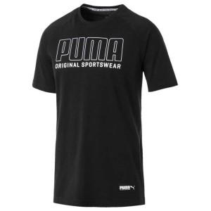ביגוד פומה לגברים PUMA Athletics Graphic - שחור