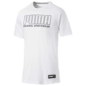 ביגוד פומה לגברים PUMA Athletics Graphic - לבן