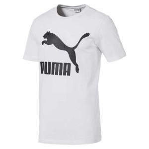 ביגוד פומה לגברים PUMA Classics Logo - לבן