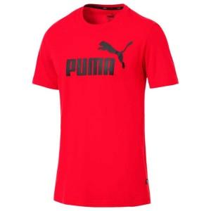 ביגוד פומה לגברים PUMA ESS Logo - אדום