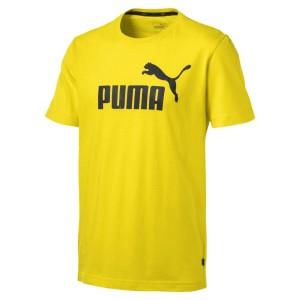 ביגוד פומה לגברים PUMA ESS Logo - צהוב
