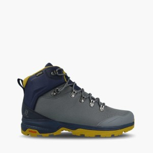 כפכפים סלומון לגברים Salomon Outback 500 Gore Tex GTX - אפור/כחול