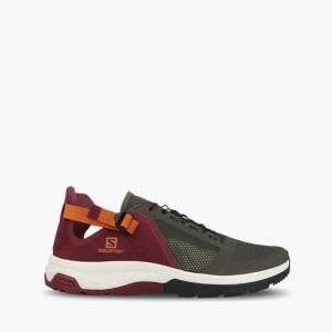 נעליים סלומון לגברים Salomon Techamphibian 4 - אדום
