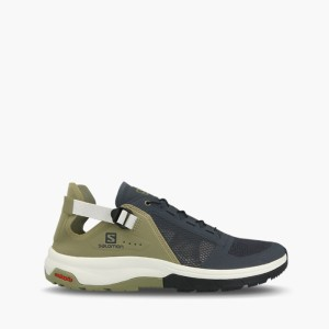 נעלי טיולים סלומון לגברים Salomon Techamphibian 4 - אפור/ירוק