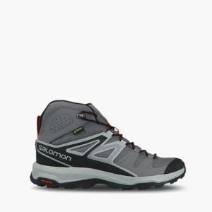 נעליים סלומון לגברים Salomon X Radiant Mid Gore Tex Gtx - אפור