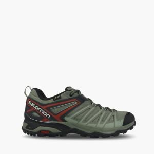 נעלי טיולים סלומון לגברים Salomon X Ultra 3 Prime Gore Tex Gtx - ירוק