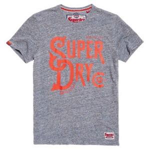 ביגוד סופרדרי לגברים Superdry 34TH Street - אפור