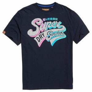 ביגוד סופרדרי לגברים Superdry Acid Pacifca Clssic Boxy - כחול