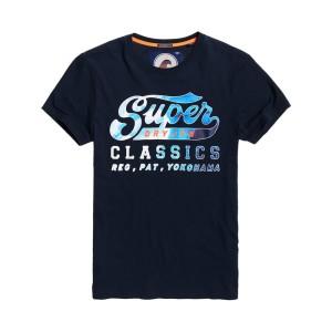 ביגוד סופרדרי לגברים Superdry Classics Lite Weight - כחול
