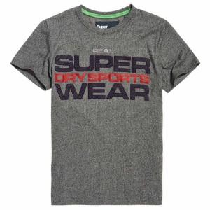 ביגוד סופרדרי לגברים Superdry Highgloss Sport - אפור