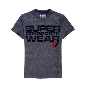 ביגוד סופרדרי לגברים Superdry Sportwear Speed - אפור