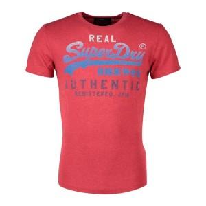 ביגוד סופרדרי לגברים Superdry Vintage Authentic Fade - אדום